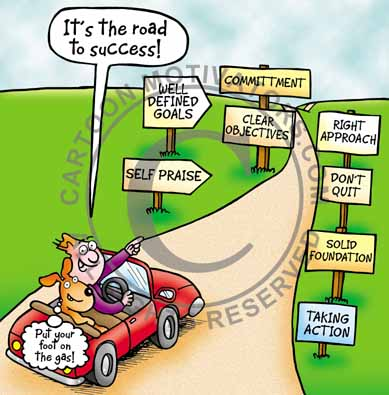 road2success About cartoonist...