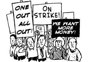strike About cartoonist...